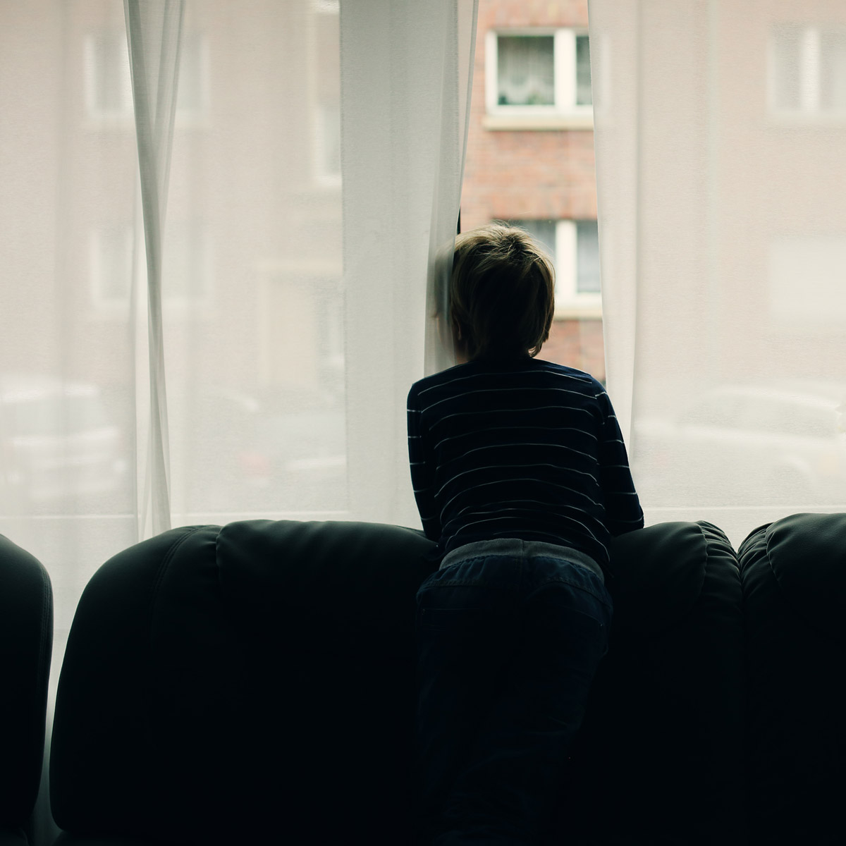 child-on-own